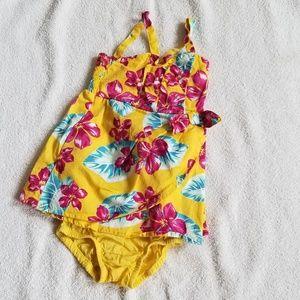 Osh Kosh 2 Piece Floral Dress 12 Months